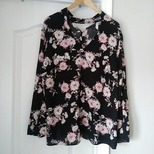 My collections Floral Blouse